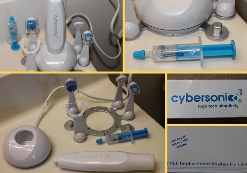 Cybersonic3 Electric Toothbrush Package